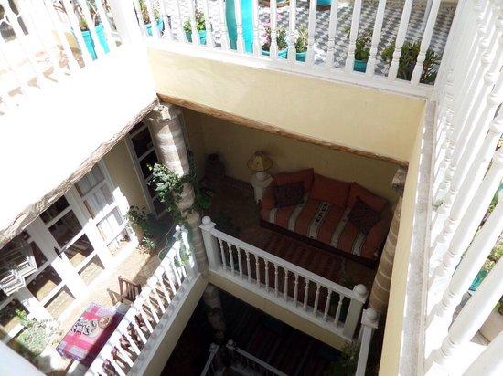 Riad Imik Imik: Blick von der Dachterrasse