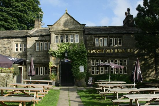 Haworth Old Hall Inn: The main front door