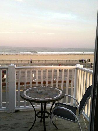 Kentville on the Ocean: View from the balcony door.