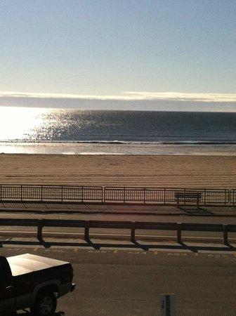 Kentville on the Ocean: View from the balcony.  Second Floor Ocean Front.