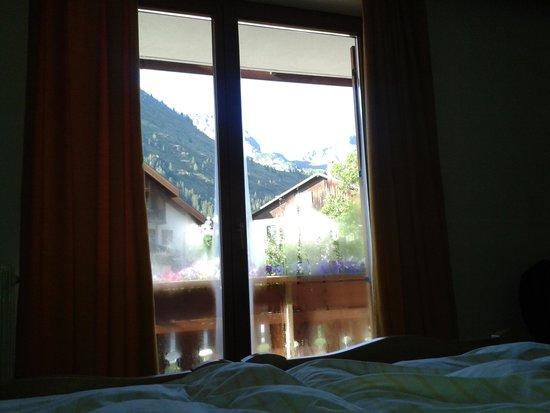 Hotel Genziana: Panorama appena svegli