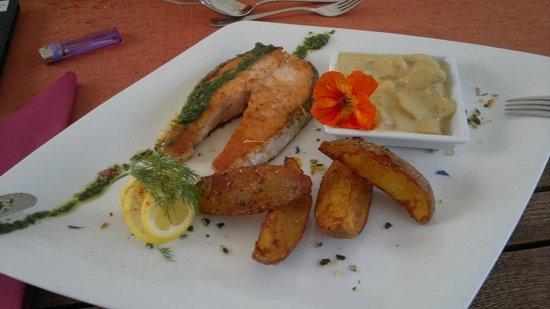 Hofer's Wirtshäusl: special offer: salmon