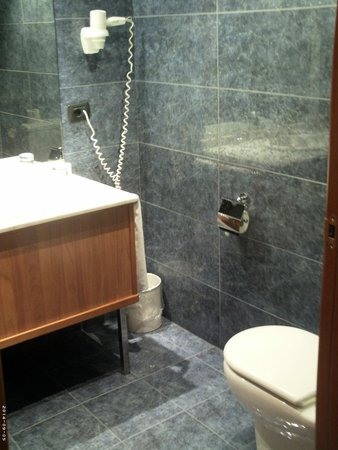 Eurostars Plaza Delicias: ванная
