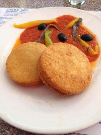 O Sole Mio: Mozzarella appetizer to die for