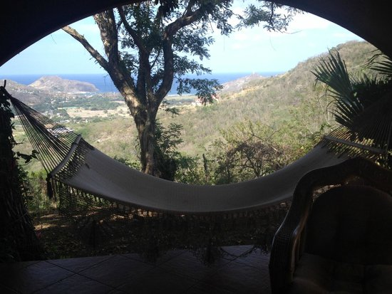 Finca Las Nubes: View from our bedroom