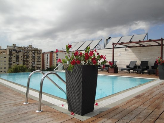 H10 Roma Citta: Zwembad op het dak