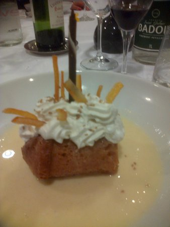 Restaurant Le Chalut : BABA AU RHUM