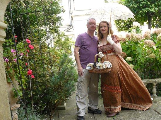 Queen Charlotte's Orangery : Jane Austen fans welcome
