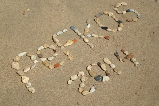 Pefki Islands Resort: my design with pebbles