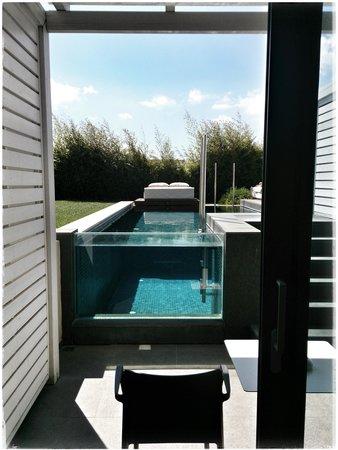 Aqua Blu Boutique Hotel + Spa: Une chambre avec piscine privée