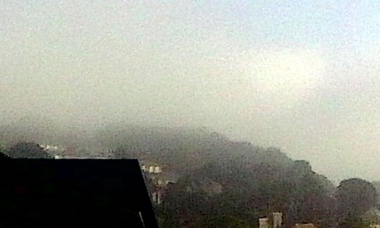 Ibis Bradford Shipley: misty view of the hills