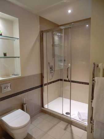 The Arden Hotel: View of the shower