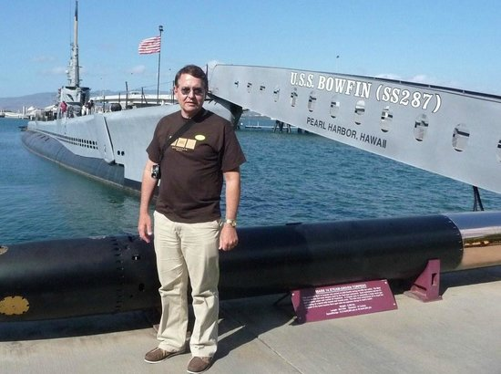 USS Bowfin Submarine Museum & Park : At USS Bowfin.