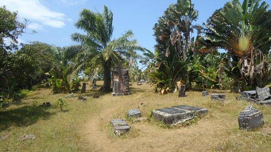 Picture Of Pirate Cemetery On Nosy Boraha, Nosy Boraha