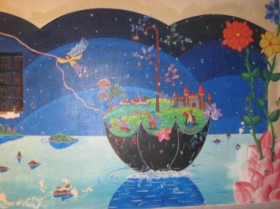 Villa dei Mercanti: murales