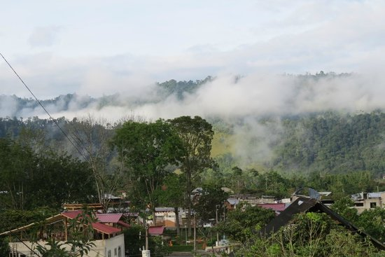 El Quetzal de Mindo : view of the town and cloud forest