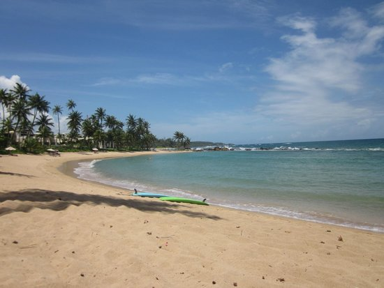 Dorado Beach, a Ritz-Carlton Reserve : Private beach next to resort