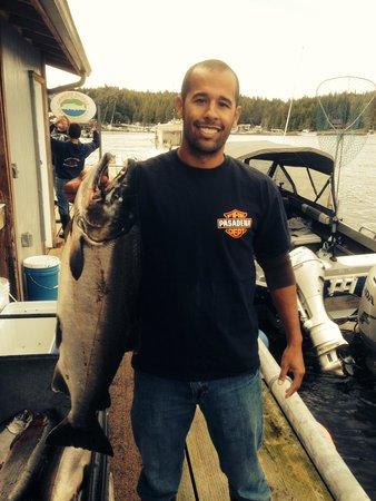 Chinook Shores Lodge: Salmon