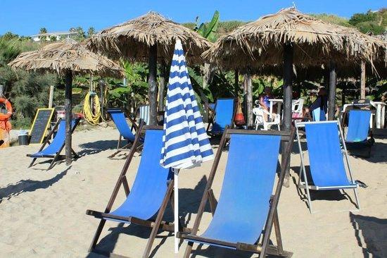 Hotel Villaggio Club Costa degli Dei: Spiaggia