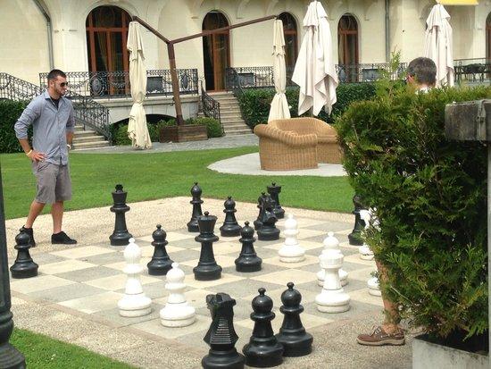 Beau-Rivage Palace: Chess at the Beau Rivage