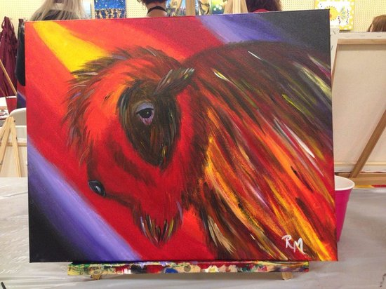 Buffalo Jump Winery : Paint & Sip events are great fun and held weekly.  Got kids?  Sunday is family painting day!