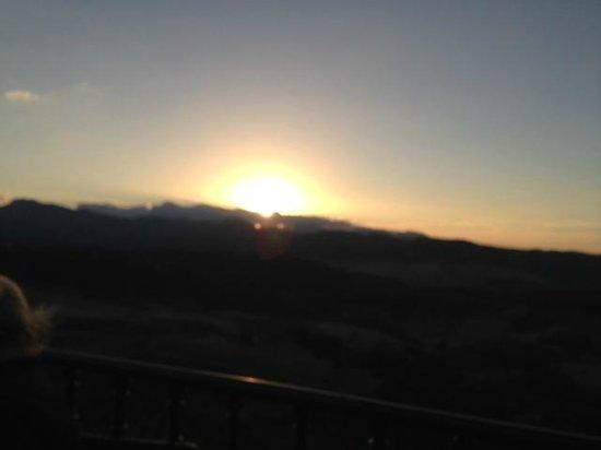 Restaurante Albacara: The view at sunset