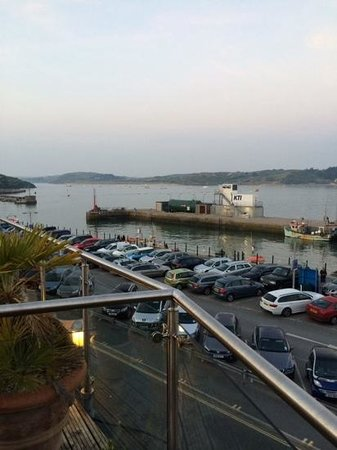 The Seafood Restaurant Accommodation: early evening  from the terrace ...