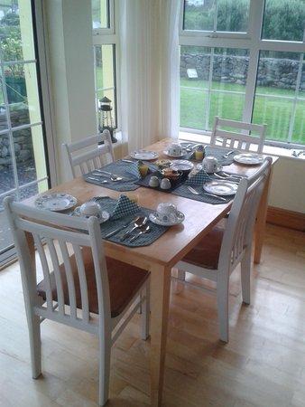 Fisherman's Rest: Tavolo della colazione