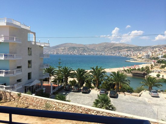 Vila Erdeti : výhled z apartmánu