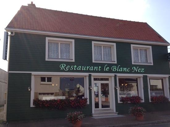 Le Blanc Nez: the refurbished exterior.