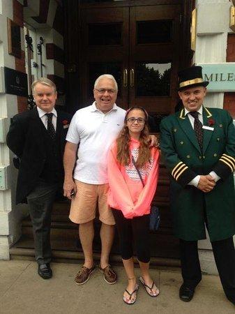 The Milestone Hotel : Friendly staff