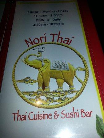 Nori Thai & Sushi: NORI THAI