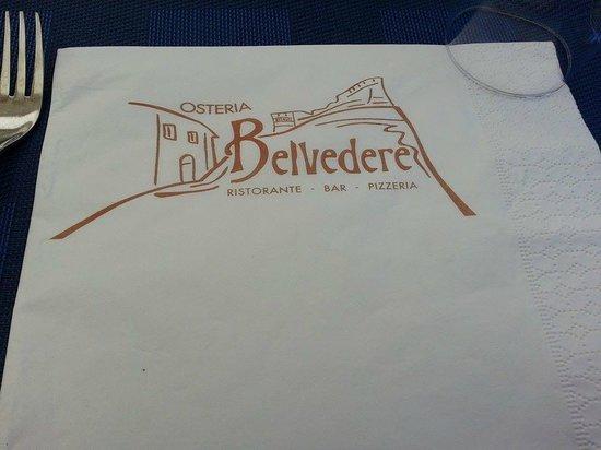 Osteria Belvedere: un Belvedere di cibo e paesaggio