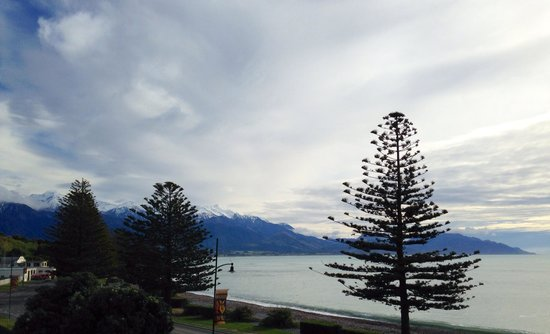 Kaikoura Apartments : View from balcony of Unit 8