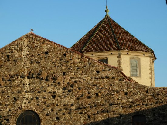Hotel Sant Agusti: vista desde la hab hacia iglesia san agustin