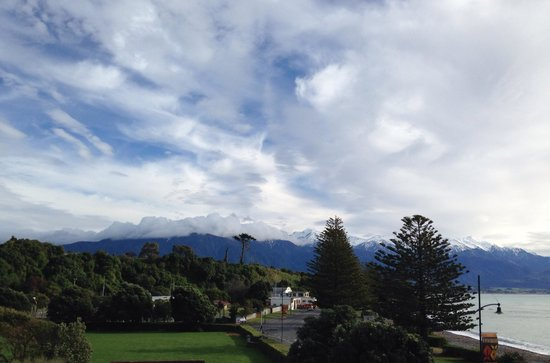 Kaikoura Apartments : View #2 from balcony Unit 8