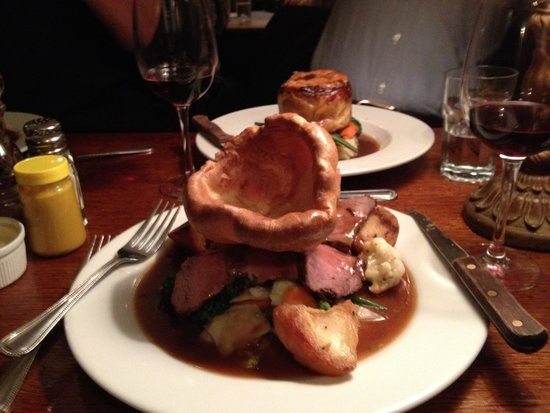 The Andover Arms: My classic carved beef entree