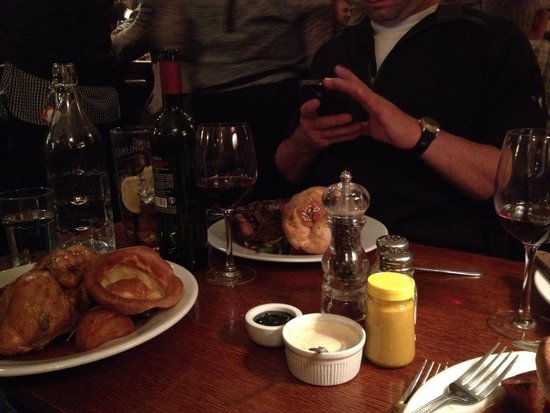 The Andover Arms: Our fabulous dinners