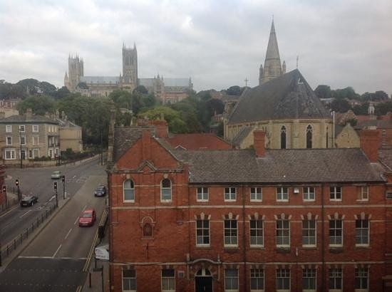 Premier Inn Lincoln City Centre Hotel: view from room 430