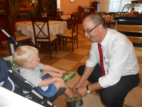 Hotel Best Cambrils : Manel one of the restaurant staff