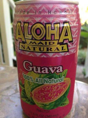 Pineapple Inn: my favorite juice stocked in the fridge!