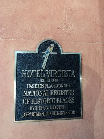 Holiday Inn Express Santa Barbara: Historic Plaque