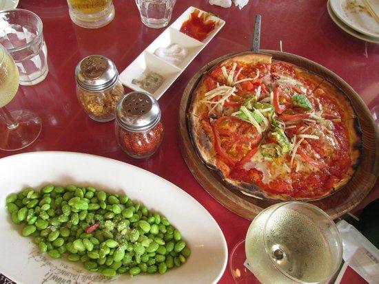 iL CHIANTI BEACHE: pizza!