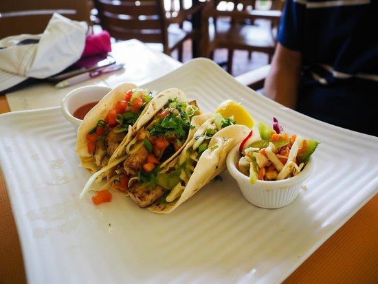 Sunshine Grill : fish tacos