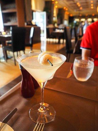 Luca: lychee martini