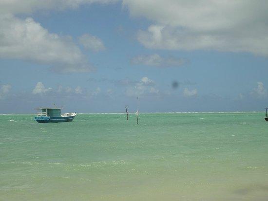 Pousada Villa Pantai: Praia onde está localizada a pousada em São Miguel dos Milagres.
