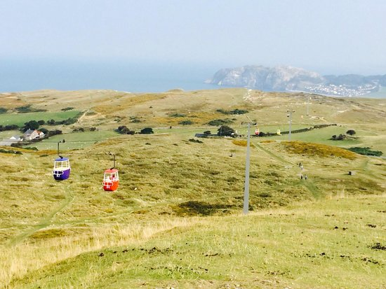 Great Orme Cable Cars: Cable cars