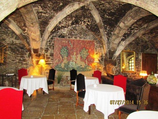 أباي دي ميزيري: Caves of Abbaye - Dining Room
