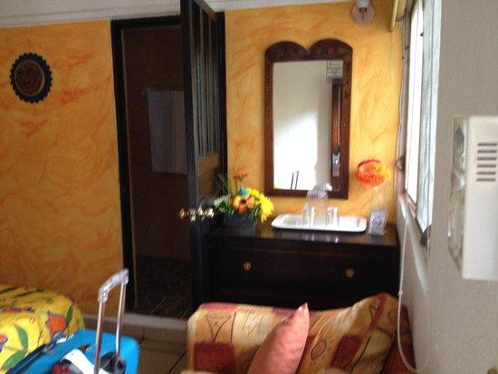 Hotel Posada de Roger: Room interior