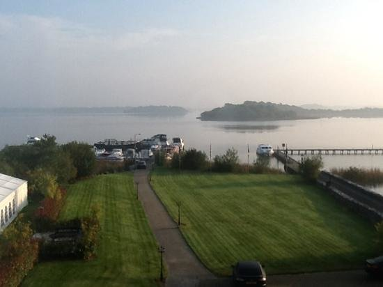 Knockninny Country House & Marina : Morning view from window of Executive Suite